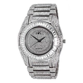 Adee Kaye Men's Galaxy Goldtone Collection Watch