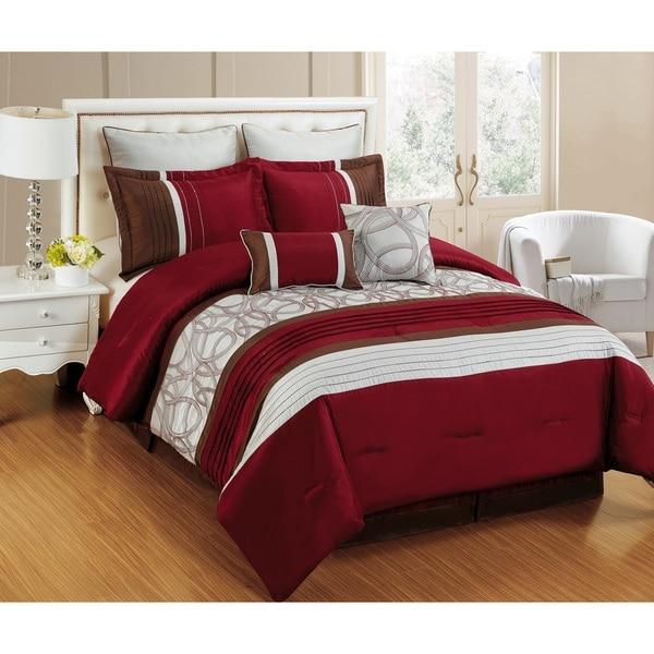 Fashion Street Emerson 8-piece Comforter Set