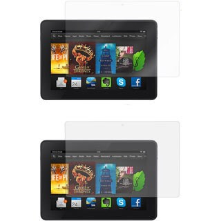rooCASE 2 HD Clear and 2 Anti-glare Screen Protectors for Kindle Fire HD 7 (Pack of 4)