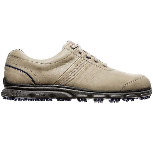 san francisco 0dc54 27ab1 Shop FootJoy Men s DryJoys Casual Spikeless Driftwood Golf Shoes - Free  Shipping Today - Overstock - 9923485