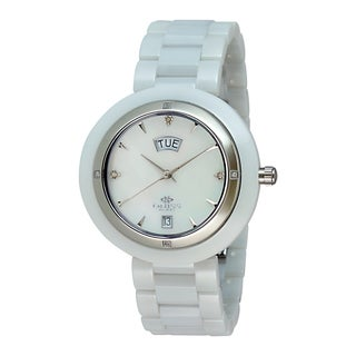 Oniss Paris Women's Diamond Accent Collection Watch