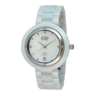Oniss Paris Women's Diamond Accent Collection Watch|https://ak1.ostkcdn.com/images/products/9923500/P17080767.jpg?impolicy=medium