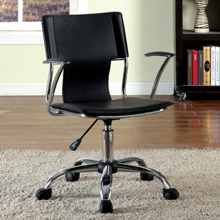 Furniture of America Sol Contemporary Leatherette Office Chair