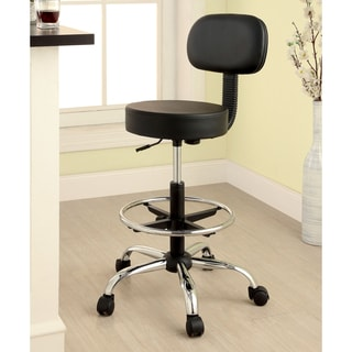 Furniture of America Brennen Armless Black Office Chair
