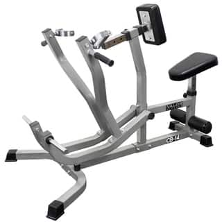 Valor Fitness CB-14 Plate Loaded Seated Row and Chest Pull Machine - Grey