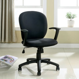 Furniture of America Timmen Black Adjustable Task Chair