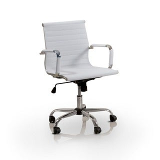Furniture of America Kimmel Ribbed Standard Back Office Chair