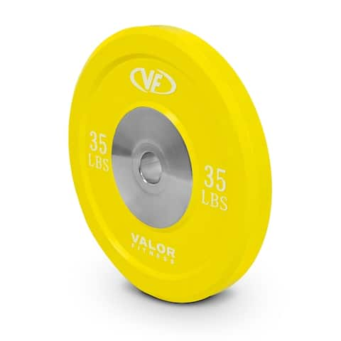Valor Fitness BPX Rubber Bumper Plates for Olympic Weight Lifting, Cross Training, and Strength and Conditioning