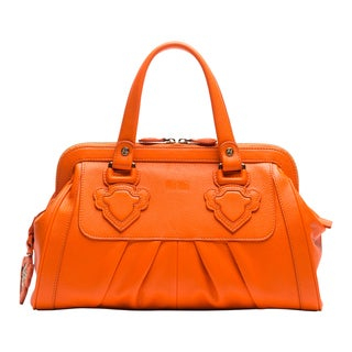 Wa Obi Isabelle Leather Handle Bag