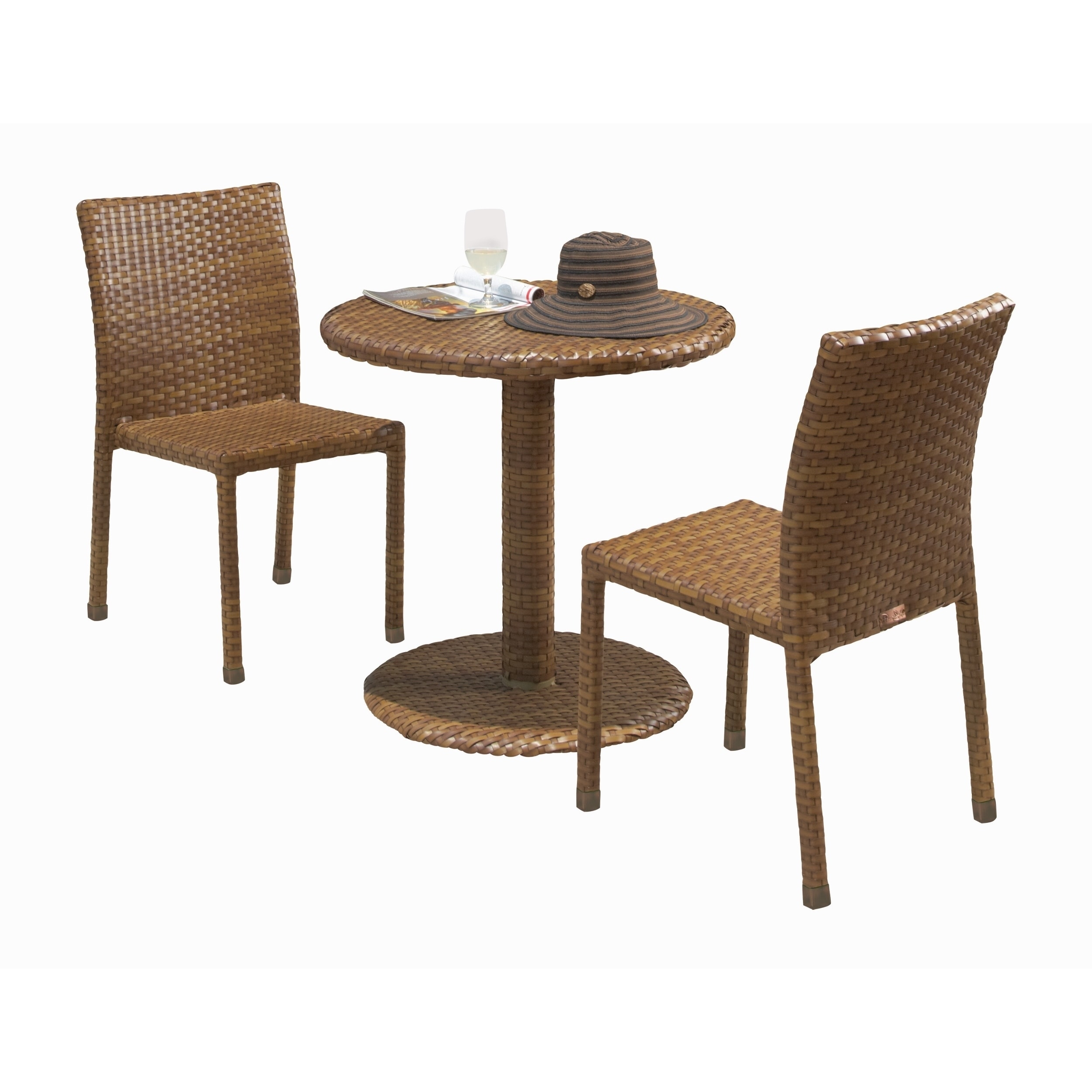 Panama Jack 3-piece St. Barths Bistro Side Chair Set (3 P...