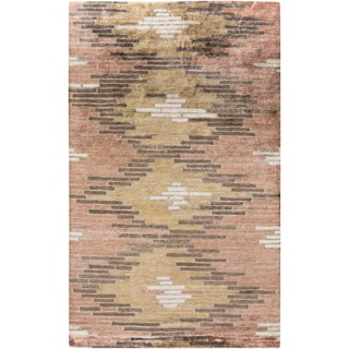 Hand-Knotted Arely2 Geometric Viscose Rug (8' 11')