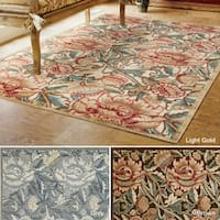 Rug Squared Corona Floral Area Rug (7'9 x 10'10 ) - 7'9 x 10'10