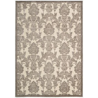 Rug Squared Corona Damask Accent Rug (2'3 x 3'9)