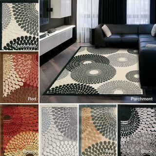 Rug Squared Corona Spiral Accent Rug (2'3 x 3'9)
