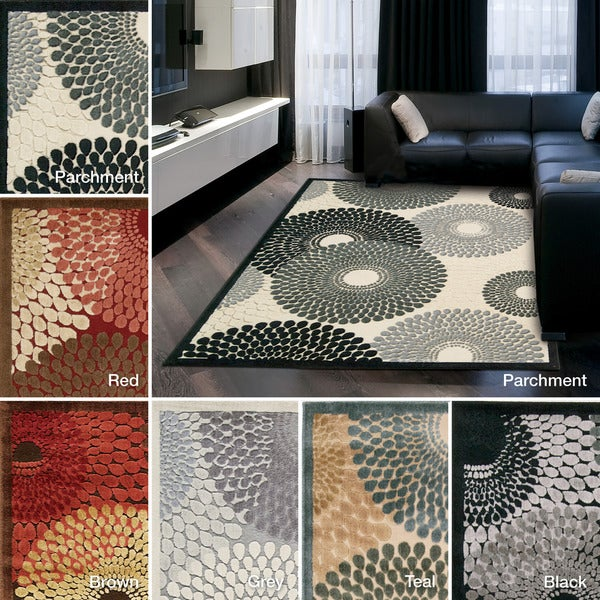 Rug Squared Corona Spiral Accent Rug (2'3 x 3'9 )