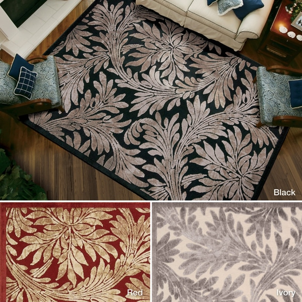 Rug Squared Corona Floral Accent Rug (2'3 x 3'9) - 2'3 x 3'9