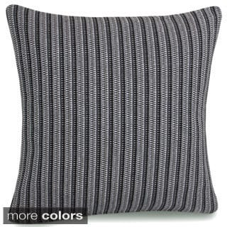 Jovi Home Genoa Hand Woven 18-inch Decorative Throw Pillow Covers (Set of 2)