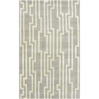 Hand-Tufted Pax ton Geometric Indoor Area Rug - 9' x 13'