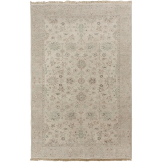 Hand-Knotted Trevor Border Indoor Area Rug - 8' x 11'