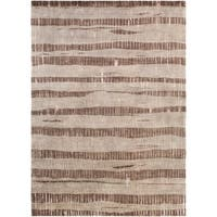 Hand-Knotted Teviot Stipe Indoor Area Rug - 8' X 11'