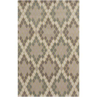 Hand-Tufted Abril Geometric Wool Rug (8' x 11')