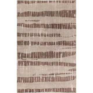 Hand-Knotted Teviot Stipe Indoor Rug (5' x 8')