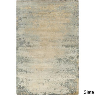 Hand-Knotted Shiloh Abstract Indoor Rug (5' x 8')