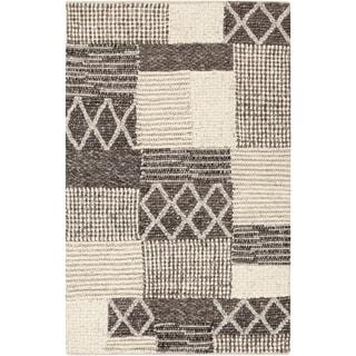 Hand-Woven Sonya Nature Wool Rug (2' x 3')