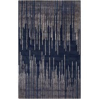 Carson Carrington Greve Hand-Tufted Geometric New Zealand Wool Area Rug (8' x 11')