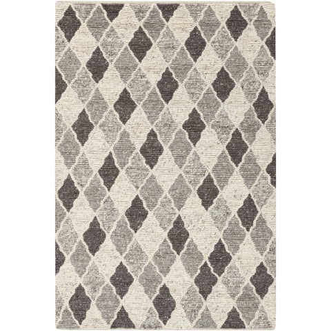Copper Grove Rock Rose Hand-woven Moroccan Trellis Wool Area Rug - 8' x 10'