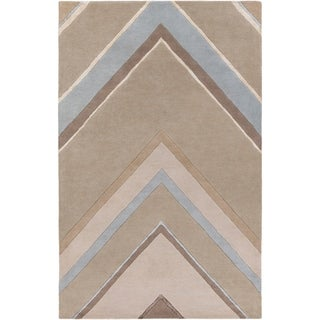 Hand-Tufted Wright Geometric Indoor Area Rug - 9' x 13'