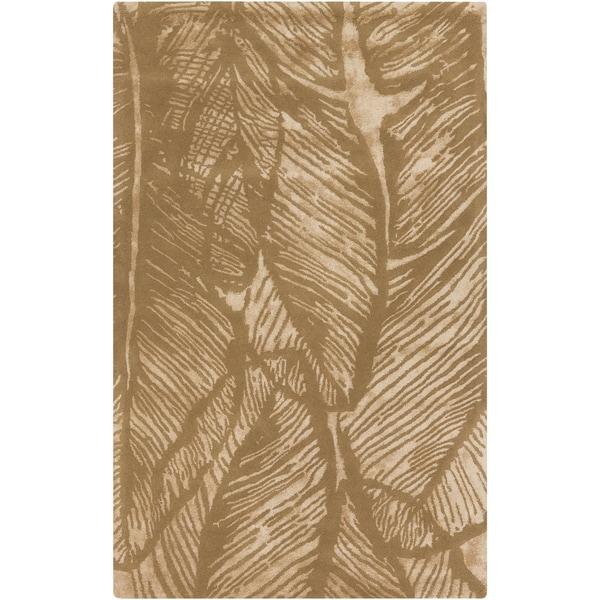 "Hand-Tufted Vaughn Floral Indoor Area Rug - 3'3"" x 5'3"""