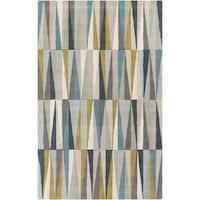 Carson Carrington Overlund Hand-Tufted Geometric Wool Area Rug - 8' x 11'