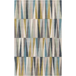 Hand-Tufted Roxanne Geometric Wool Rug (8' x 11')