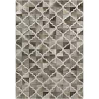Hand-Crafted Michael Moroccan Trellis Hair On Hide Area Rug - 8' x 10'