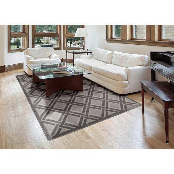 Rug Squared Corona Grey Rug (5'3 x 7'5)