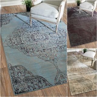 nuLOOM Oriental Vintage Viscose Fancy Rug (5'2 x 8')