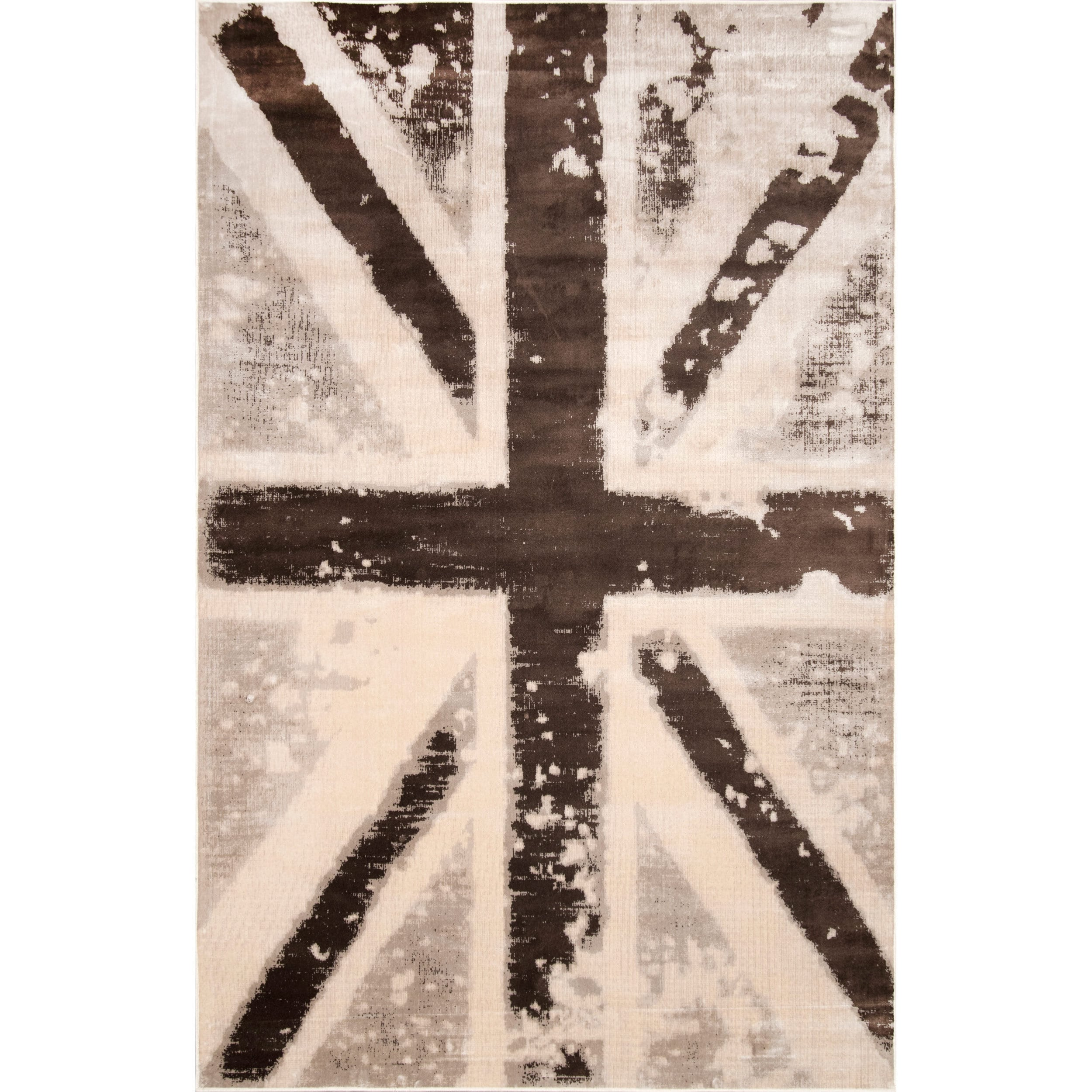 Nuloom Vintage Union Jack British Flag