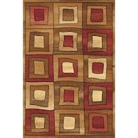 Bowery Geometric Square Rug - 8' x 11'