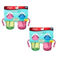 Playtex Training Time 6-ounce Straw Cups (Pack of 2)
