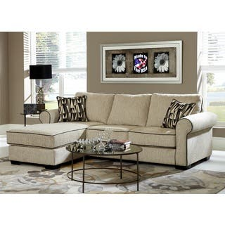 Cream Chenille Reversible Sofa Chaise Sectional|https://ak1.ostkcdn.com/images/products/9924366/P17081400.jpg?impolicy=medium