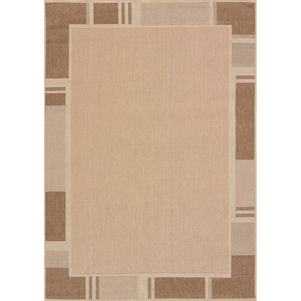Flat-weave Terrace Renata Indoor/Outdoor Area Rug - 7'10 x 10'6