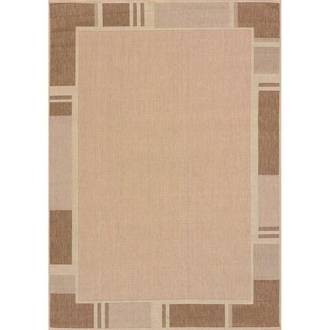 Flat-weave Terrace Renata Indoor/Outdoor Area Rug - 7'10 x 10'6