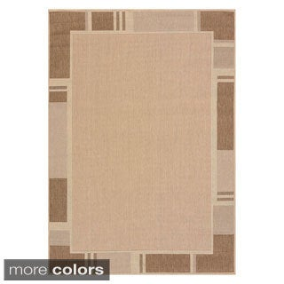 Flat-weave Terrace Renata Indoor/Outdoor Area Rug (5'3 x 7'6) - 5'3 x 7'6