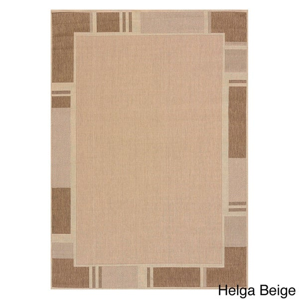 Flat-weave Terrace Renata Indoor/Outdoor Area Rug - 5'3 x 7'6