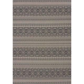 Terrace Catrina Indoor/Outdoor Area Rug (53 x 76) - 53 x 76 (Reilly Silver)