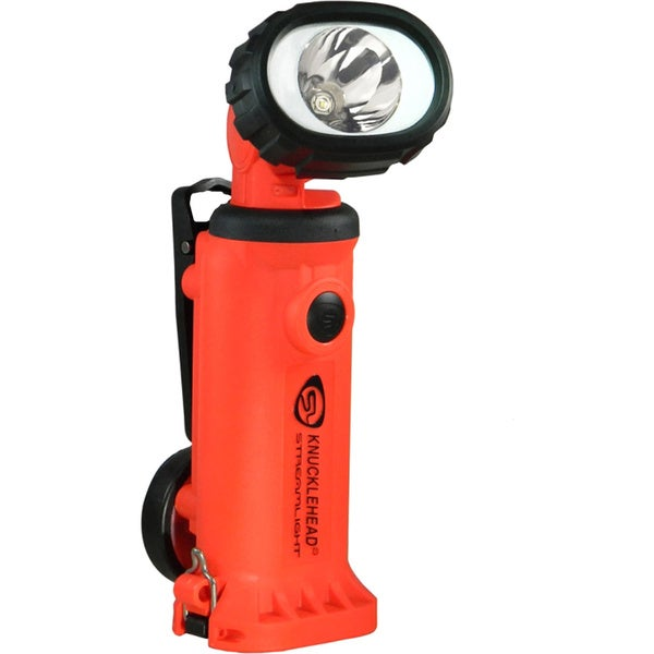 Knucklehead Light/ Spot with 120V AC Fast Charge/ Orange