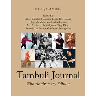 Tambuli Filipino Warrior Art Martial Arts Journal Book Mark Wiley