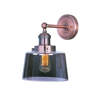 Maxim Mini 1-light Hi-bay Copper Wall Sconce