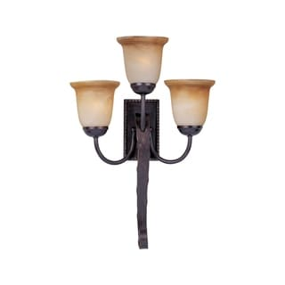 Maxim Aspen Bronze Iron 3-light Wall Sconce